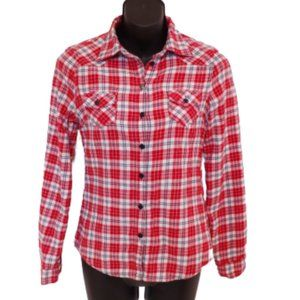 *3 for $25* Urban Behavior Red Check Flannel Shirt